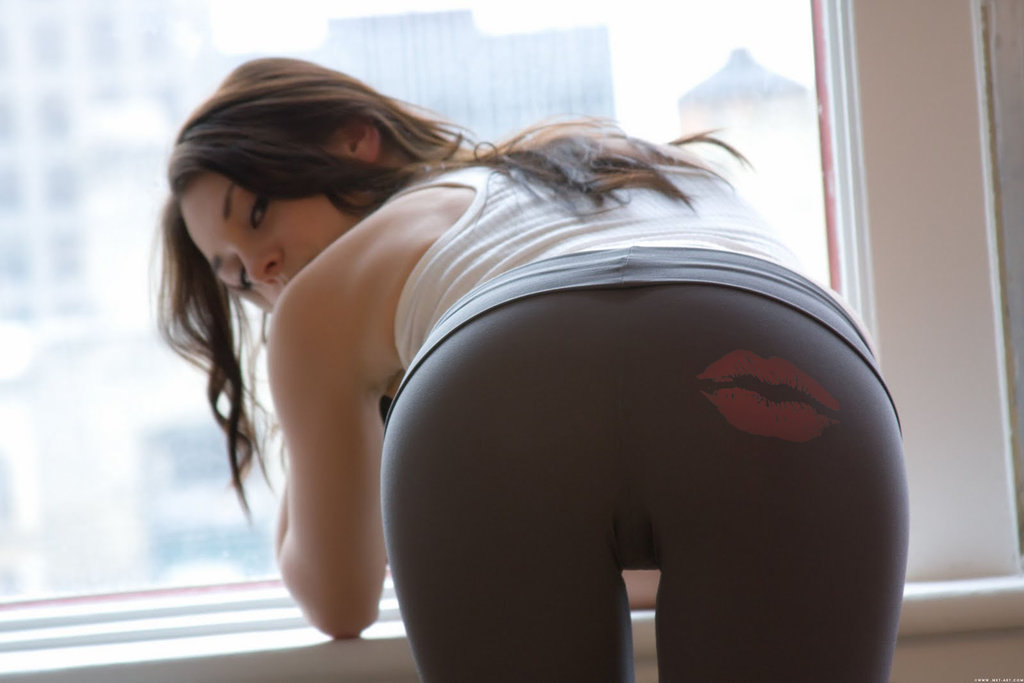 Yoga Pants Quotes Yoga Pants Lips by Nayias01